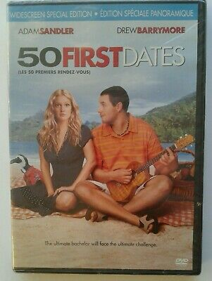 50 First Dates (DVD, 2006, Bilingual) Special edition - Brand New Factory Sealed