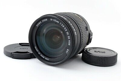 Sigma DC 18-125mm f/3.8-5.6 OS HSM Lens for Nikon #998