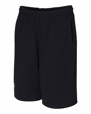 """##Russell Athletic - Essential Jersey Cotton 10"""" Shorts with Pockets - 25843M"""