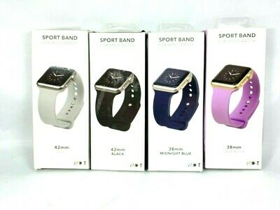 Next Solid Silicone Sport Band For Apple Watch Various Size & Colors