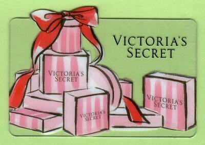 VICTORIA'S SECRET Die-cut Gift Boxes 2014 Gift Card ( $0 )