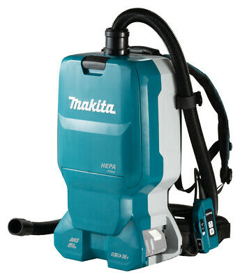 Makita DVC665ZU Battery Backpack Vacuum Cleaner Dust Category L with 6 L
