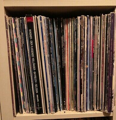 Various Vinyl Records Mostly '80s Rock & Movie Soundtracks