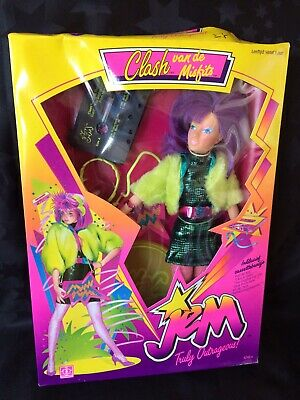 Jem And The Holograms - Hasbro 1980s - Clash Of The Misfits Doll, NRFB