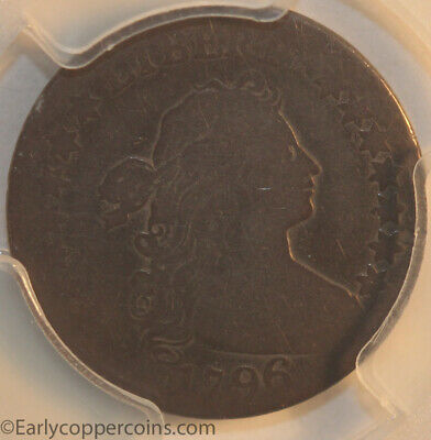 1796 JR3 R5 Draped Bust Dime PCGS AG3 Key Date First Year Issue