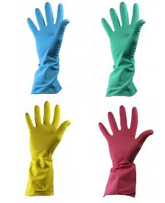 Shield Latex Rubber Household 30cm Long Sleeved Cleaning Gloves Kitchen Bathroom