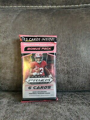 2020 Panini Prizm Draft Picks Football Cello Hanger Pack Burrow ? Tua? Love ?
