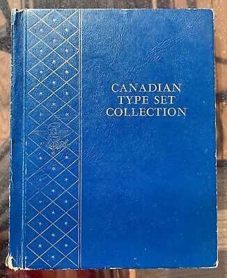 Canadian Type Set Collection With 43 Coins