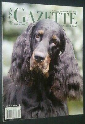 AKC Gazette Magazine Gordon Setter Cover + Articles Nov. 2005 AKC Library