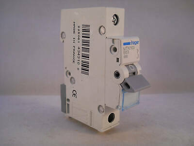 Hager MCB 63 Amp Single Pole Circuit Breaker Type B 63A B63 MTN163