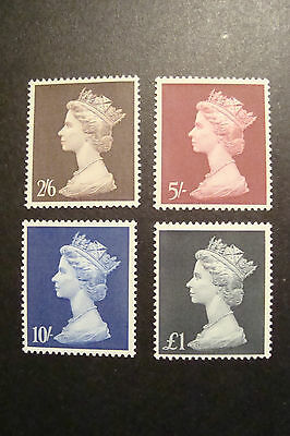 GB 1969 Machin Stamps to £1~4 Values ~SG 787-90~Unmounted Mint~UK Seller