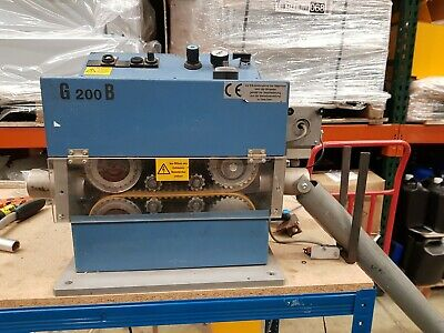 ULMER ZG200/B Prefeeder / Dereeler for Cable Drums and Wire Machines