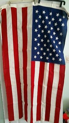 American Flag Flown Over United States Capitol 1966 Certificate Of Authenticity