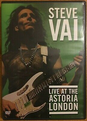 Steve Vai - Live at The Astoria (DVD, 2003, 2-Disc Set, Two Disc Set)