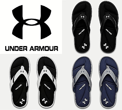 Under Armour Men's Ignite III Sandals Thongs Flip Flops Shoes FREE SHIP- 3022707