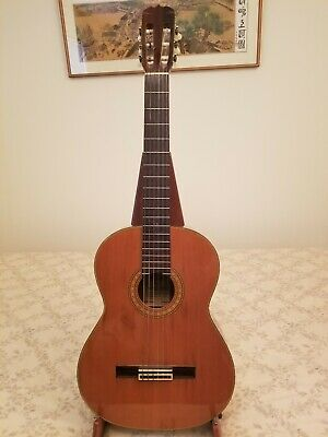 1980s Takamine C-132S Classical Guitar made in Japan w/ used Hard Case Good Cond