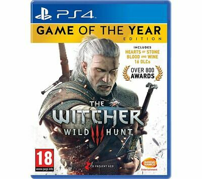 PS4 The Witcher 3: Wild Hunt - Game of the Year Edition PlayStation 4- Currys