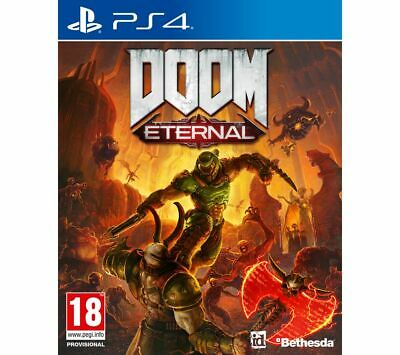 PS4 Doom Eternal PlayStation 4 Game Online Multiplayer - Currys