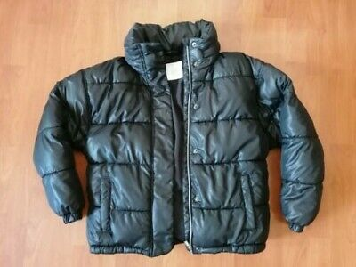 Girls's NEXT Black Puffer Jacket With Hood Age 10 Years EXCELLENT CONDITION!