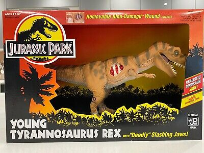 jurassic park toys kenner Young Trex Unopened. Near Perfect Condition ! Rare