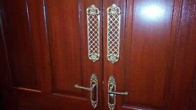 Elegant Rare Brass Antique Style Door Finger/push plates, singles