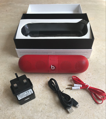Haut-Parleur Portable Beats By Dr Dre Pill 2.0 Rouge Bluetooth Sans Fil