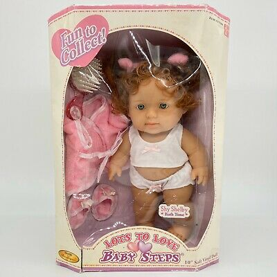 Berenguer Lots To Love Baby Steps Fun Shy Shelby Bath Time New In Box