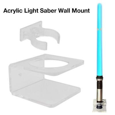 Light Saber Stand Vertical Wall Mount Rack For Star Wars Force FX Lightsabers