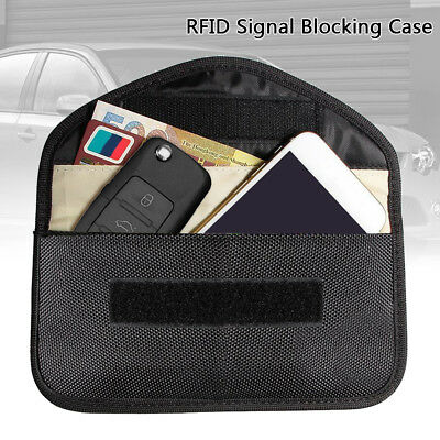 Phone Card Car Key Keyless Entry Fob Signal Guard Blocker Faraday Large Size Bag