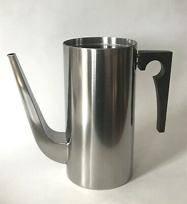 Arne Jacobsen Stainless Steel Stelton Cylinda-Line Coffee Pot - No Lid