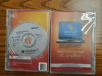 Windows 7 PRO Professional install disk.  Use your existing Key