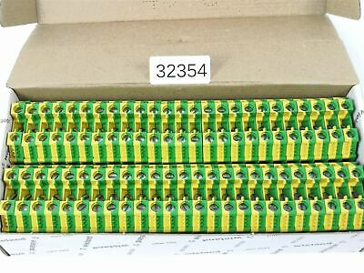 50x as Set! Wieland 10qmm WKN10SL / and / V0 Conductor Terminal Clamp Sl-Klemme