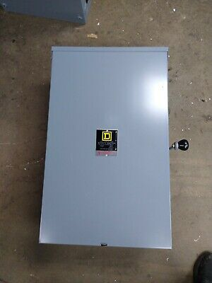 Square-D 200amp Double Throw Safety/ Transfer Switch 3R Outdoor DTU-224-NRB !!