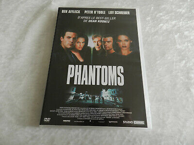 DVD PHANTOMS film Science Fiction 1997 DVD état neuf Ben Affleck