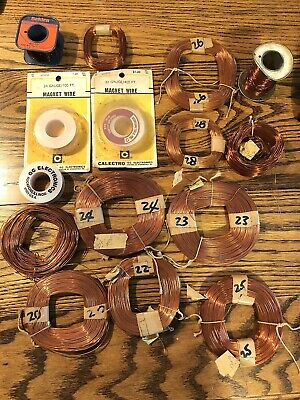 Magnet Wire Lot Over 7 Pounds! Vintage
