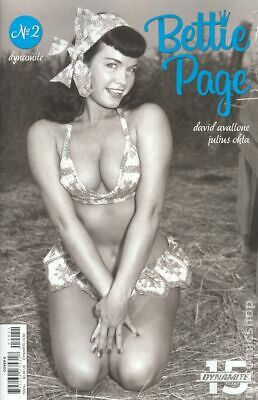 Bettie Page #2E Photo Variant VF 2019 Stock Image