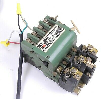Furnas 22DF32AA Contactor Starter Size 1 10 HP 575 VAC 30A w/ Dual Voltage Coil