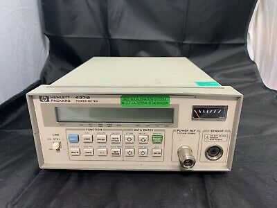 HP Agilent Keysight 437B Power Meter w/ Power Supply Cable