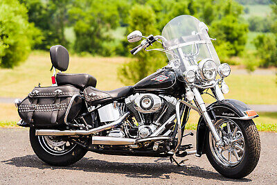 """2013 Harley-Davidson Softail  2013 Harley-Davidson Softail Heritage Classic FLSTC 103""""/6-Speed Chromed-Out!!"""