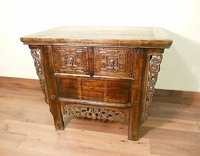 """Antique Chinese """"Butterfly"""" Coffer (5576), Circa 1800-1849"""