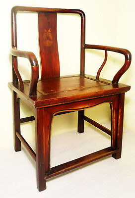 Antique Chinese Ming Arm Chairs (2842), Circa 1800-1849
