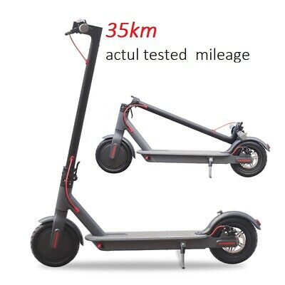 Adult Kids Electric E-Scooter Commuter Folding Kick Push Scooter Power Assist