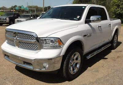 2015 Ram 1500 Laramie 4x4 4dr Crew Cab 5.5 ft. SB Pickup Heated Leather Seats F/R BACKUP CAM Navigation TOW COMMAND Remote Start LOADED