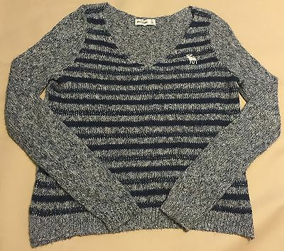 NWOT Girls Super Soft&Cozy Abercrombie Kids Pullover Sweater Size XL measurement