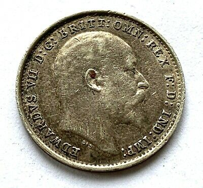 Great Britain  Silver 3 Pence 1905