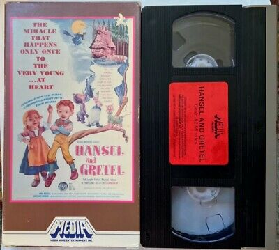 """Hansel And Gretel"" VHS (M314) Media Animated Fully Enclosed Case"