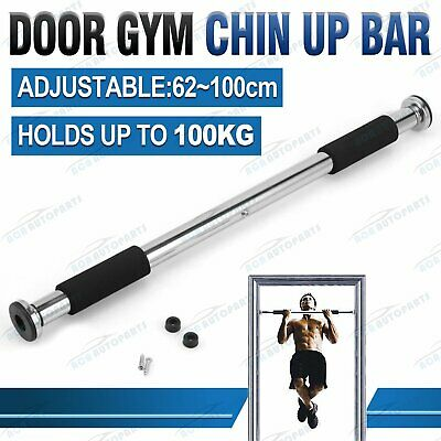 Door Chin Up Bar Portable Home Gym Pull Up Doorway Exercise Workout Fitness