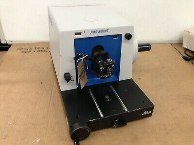 Leica Jung 2035 Biocut Microtome, not fully tested, no knife
