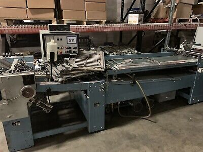 MBO Continuos Folder B26 with right angle