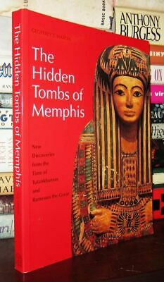 Martin, Geoffrey Thorndike HIDDEN TOMBS OF MEMPHIS 1st Edition Thus 1st Printing